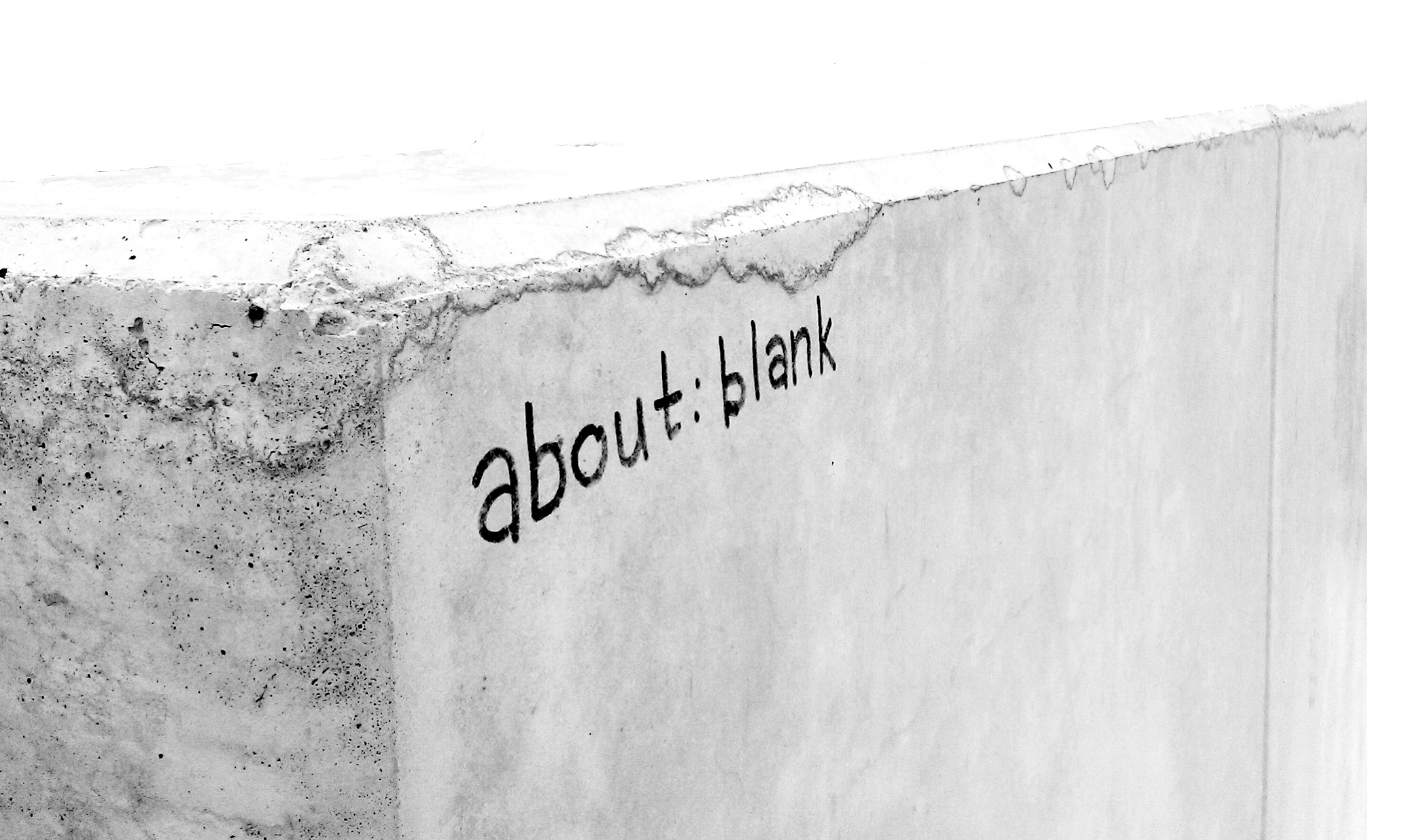 about blank
